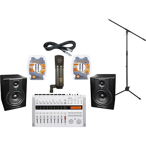 M-Audio Zoom R16 M-Audio BX5a Recording Package