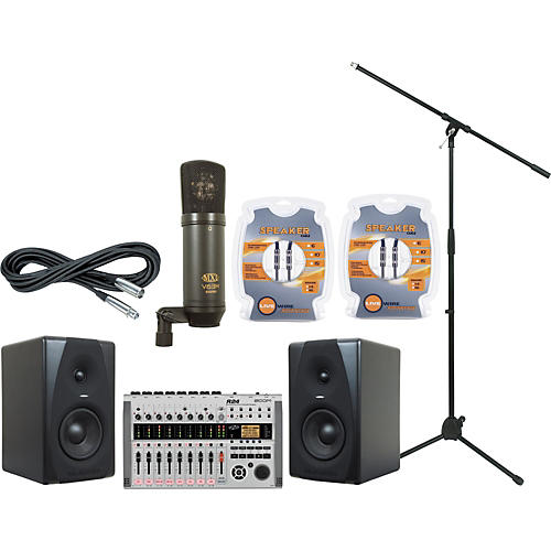 M-Audio Zoom R24 and M-Audio CX5 Recording Package-thumbnail