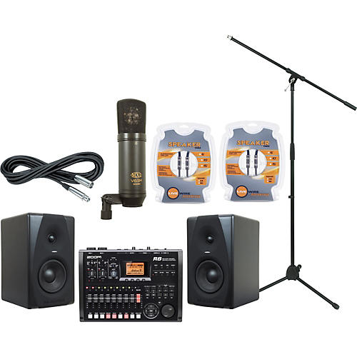 M-Audio Zoom R8 and M-Audio CX5 Recording Package-thumbnail