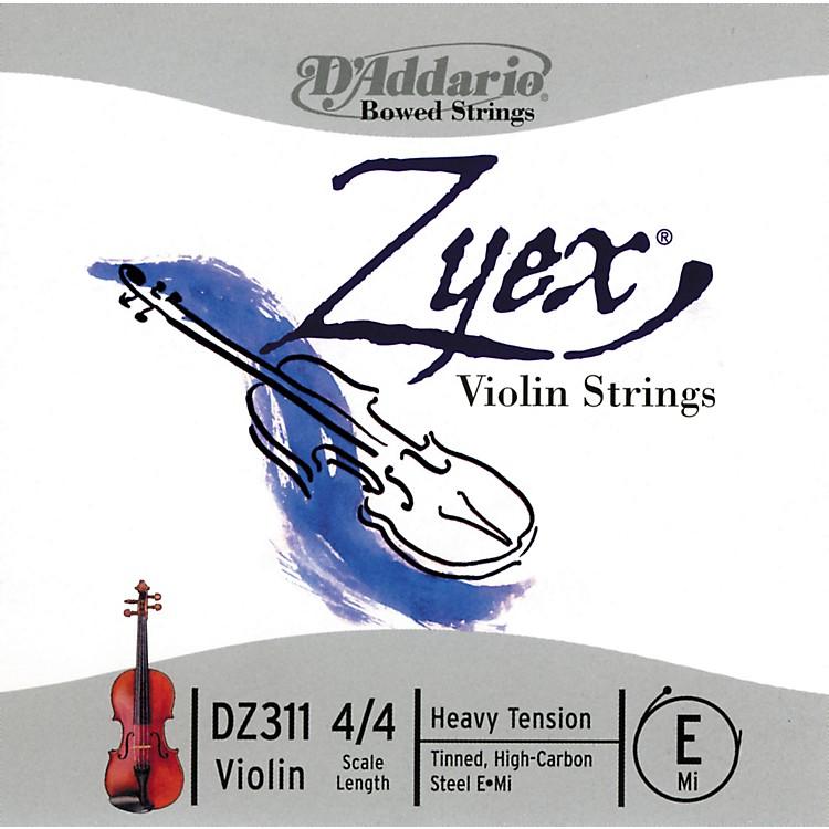 D'AddarioZyex 4/4 Violin E String SteelHeavy