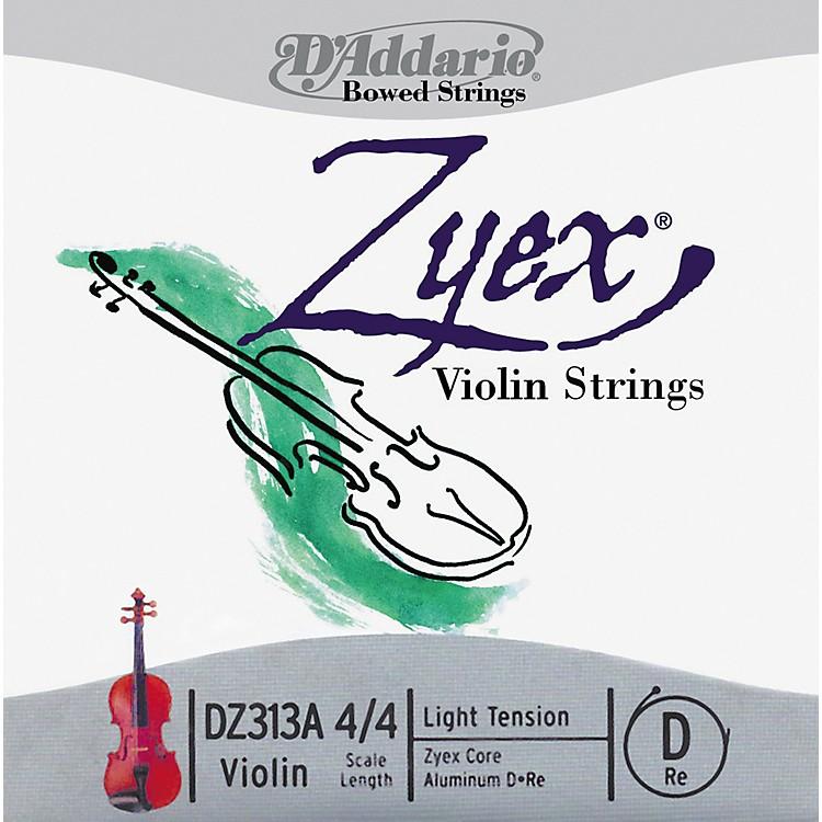 D'AddarioZyex 4/4 Violin String D AluminumLight