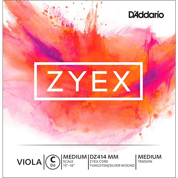 D'AddarioZyex Viola String G Medium Scale 4/4 SilverMedium