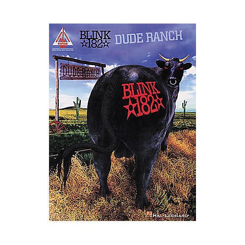 Hal Leonard blink-182 - Dude Ranch Guitar Tab Songbook