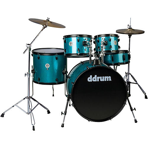 Ddrum d2 Player 5-Piece with Hardware and Cymbals-thumbnail