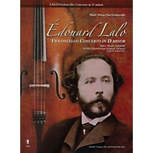 Music Minus One Édouard Lalo - Violoncello Concerto in D minor Music Minus One Series Softcover with CD by Edouard Lalo