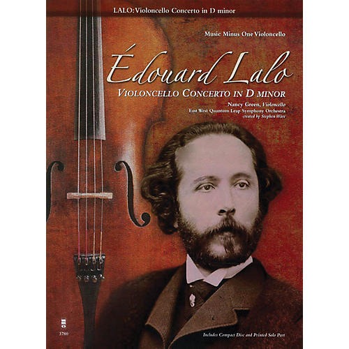 Music Minus One Édouard Lalo - Violoncello Concerto in D minor Music Minus One Series Softcover with CD by Edouard Lalo-thumbnail