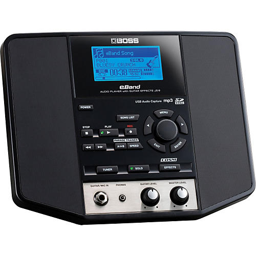 Boss eBand JS-8 Audio Player with Guitar Multi Effects