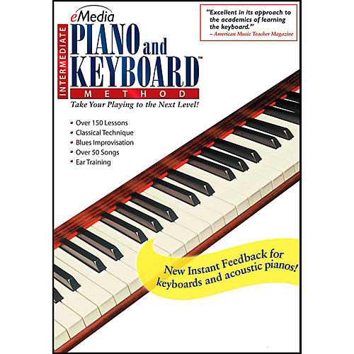 Emedia eMedia Intermediate Piano & Keyboard Method - Digital Download-thumbnail