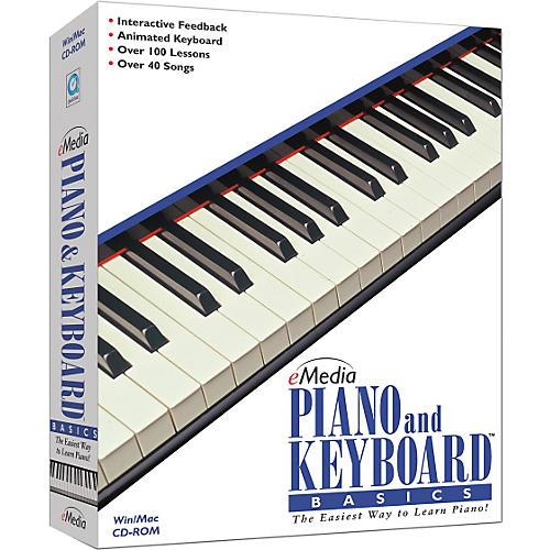 Emedia eMedia Piano & Keyboard Basics Mini-Box