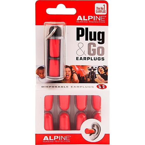 Alpine Hearing Protection (ea) Pack of 10 Foam Earplugs-thumbnail