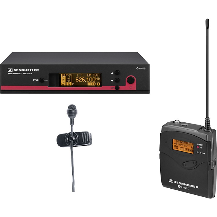 Sennheiserew 114 G3 Cardioid Lavalier Wireless System