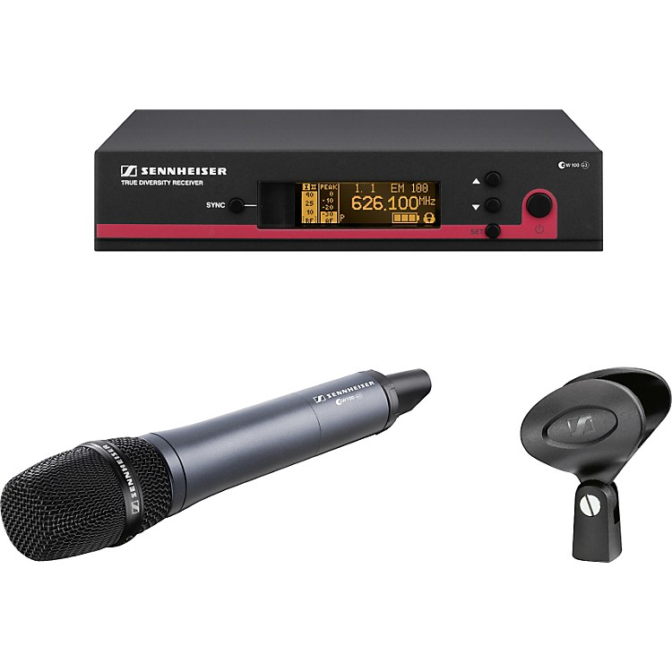 Sennheiserew 135 G3 Cardioid Microphone Wireless SystemCH B