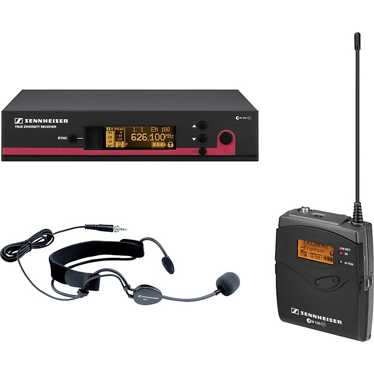 Sennheiserew 152 G3 Wireless Headset Microphone System