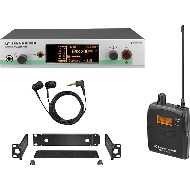 Sennheiserew 300 IEM G3 In-Ear Wireless Monitor SystemCH A