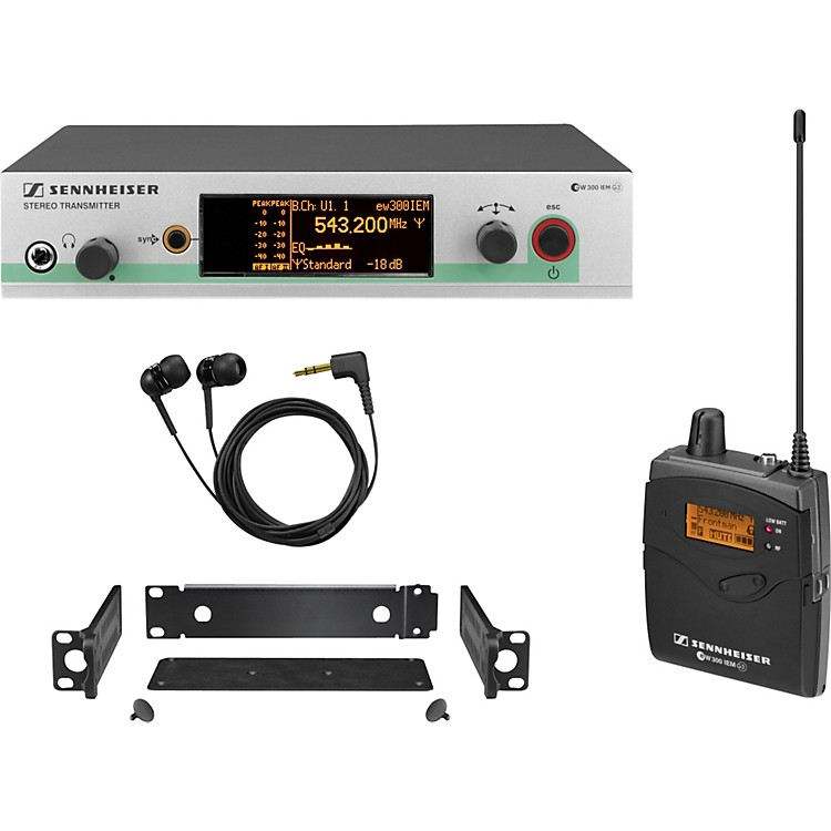 Sennheiserew 300 IEM G3 In-Ear Wireless Monitor SystemCH B