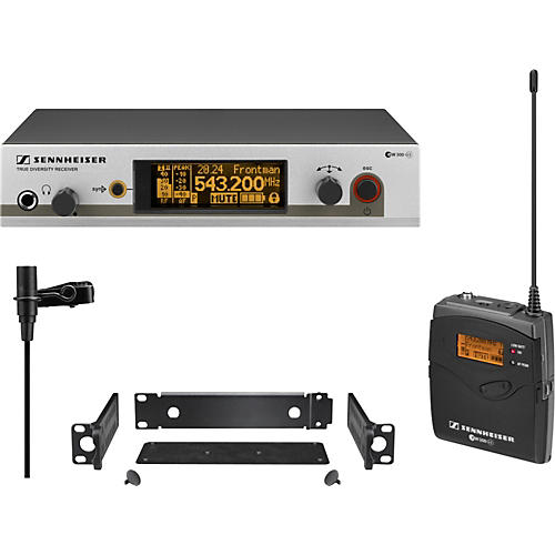Sennheiser ew 312 G3 Omnidirectional Lavilier Wireless System Band A