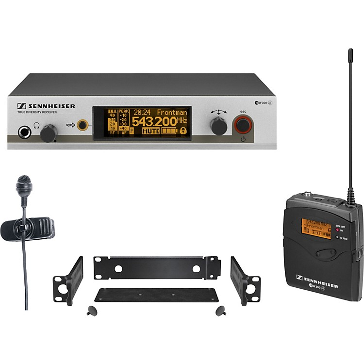 Sennheiserew 322 G3 Cardioid Lavalier Wireless SystemCH A