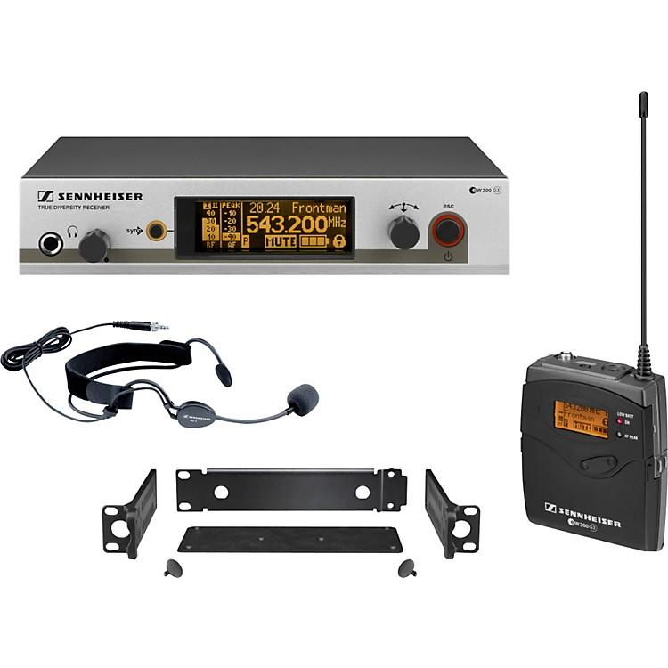 Sennheiserew 352 G3 Headset Wireless SystemCH B