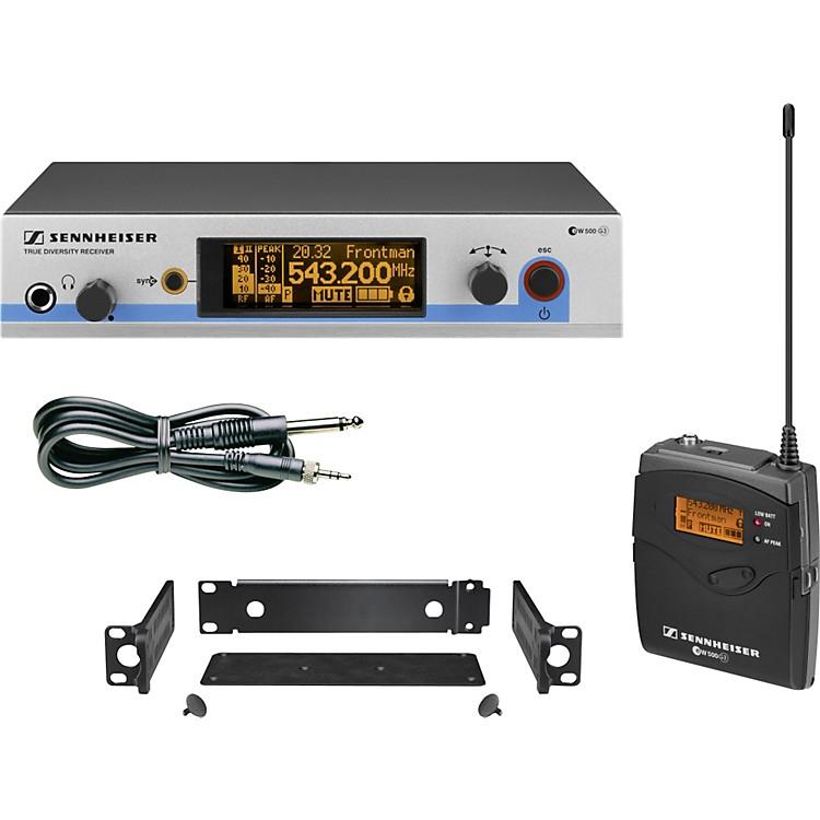 Sennheiserew 572 G3 Pro Instrument Wireless SystemCH A
