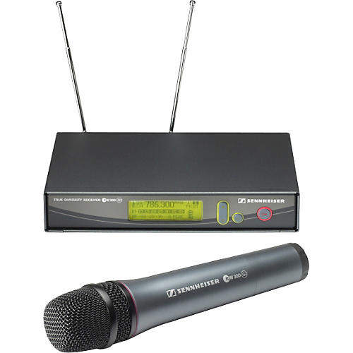 Sennheiser ew365G2 e865 Supercardioid Condenser Handheld Wireless Microphone System-thumbnail