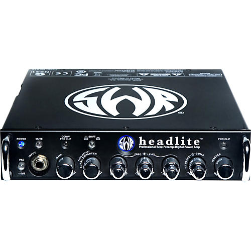 SWR headlite 400W Bass Amp Head With Tube Preamp