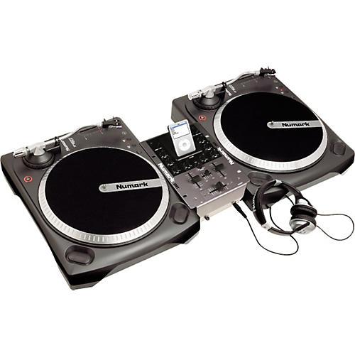 Numark iBATTLEPACK Vinyl and iPod DJ Package