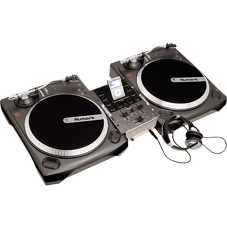 Numark iBATTLEPACK Vinyl and iPod DJ Package