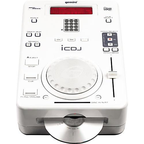 Gemini iCDJ Professional DJ Single CD Player