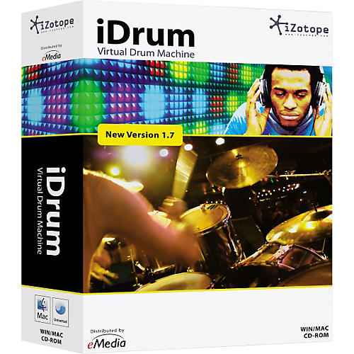 iZotope iDrum Version 1.7 Drum Machine Software-thumbnail