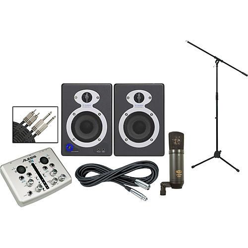 Alesis iO2 StudioPro3 Recording Package
