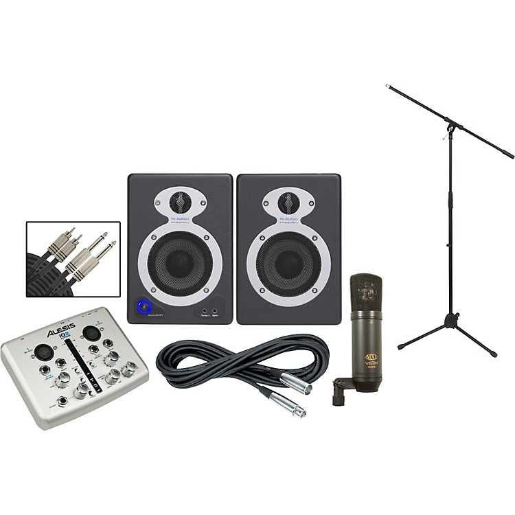 AlesisiO2 StudioPro3 Recording Package