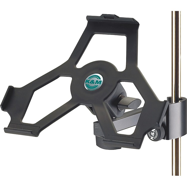 K&M iPad Holder with Prismatic Clamp Black