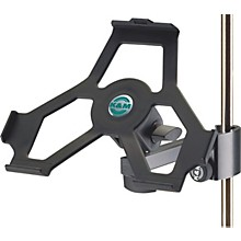 K&M iPad Holder with Prismatic Clamp Level 1 Black