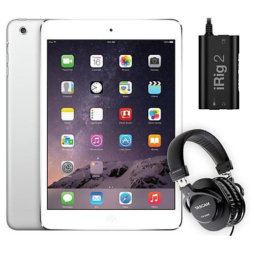 Apple iPad Mini  ME279LL/A with iRig 2 and TH-200X Headphones-thumbnail