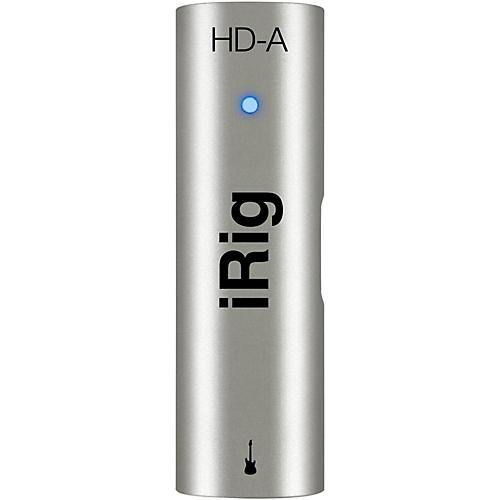 IK Multimedia iRig HD-A Studio-Quality Guitar Interface for Android Devices