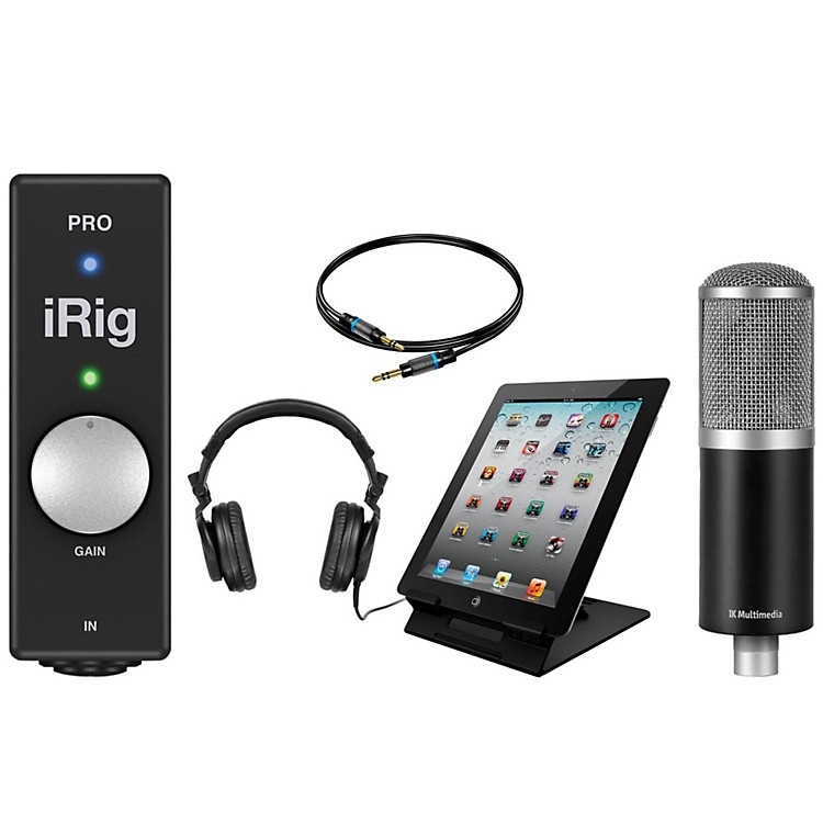 IK MultimediaiRig PRO Recording Studio