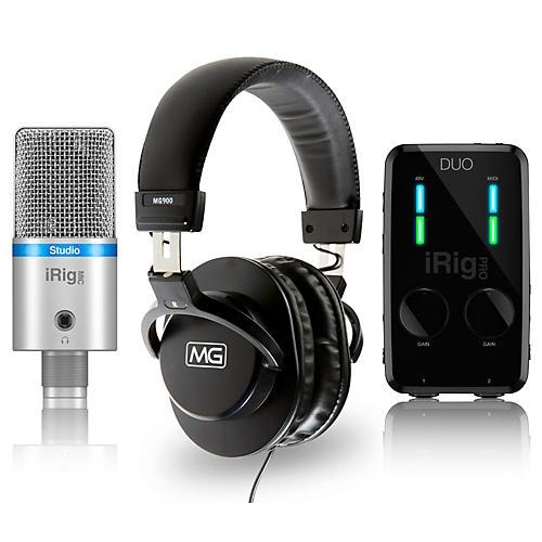 IK Multimedia iRig Studio Bundle with MG900 Headphones