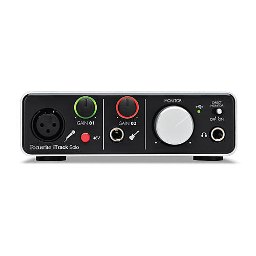 Focusrite iTrack Solo Audio Interface for iPad, Mac and PC-thumbnail