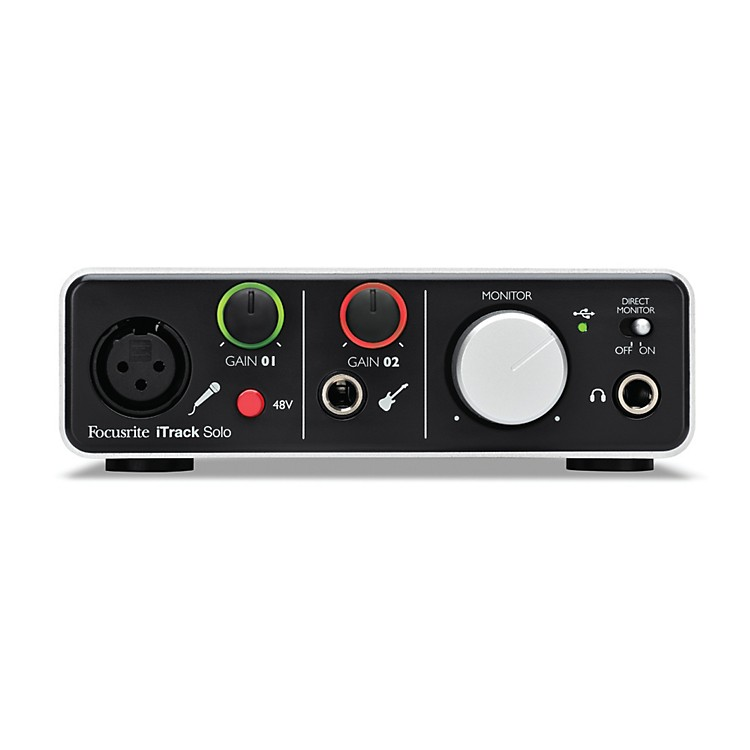 Focusrite iTrack Solo Audio Interface for iPad, Mac and PC