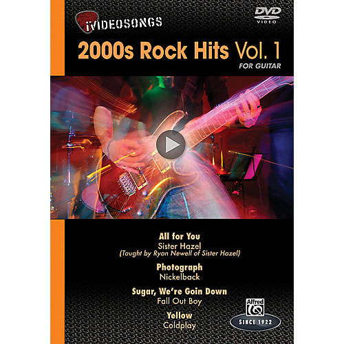 Alfred iVideosongs 2000s Rock Hits Vol. 1 DVD