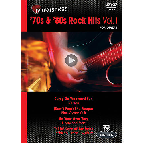 Alfred iVideosongs '70s & '80s Rock Hits Vol. 1 DVD-thumbnail