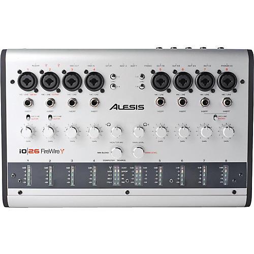 Alesis io 26 Audio MIDI 24-bit 192kHz FireWire Interface-thumbnail