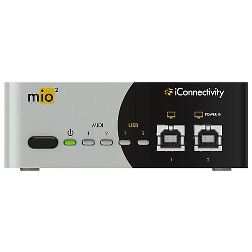 iConnectivity mio2 2x2 MIDI Interface