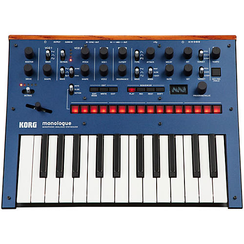 Korg monologue Monophonic Analog Synthesizer-thumbnail