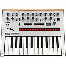 Korg monologue Monophonic Analog Synthesizer Silver