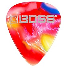 Boss mosaic Celluloid Guitar Pick