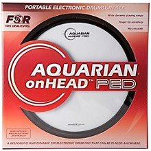Aquarian onHEAD Portable Electronic Drumsurface 13 in.
