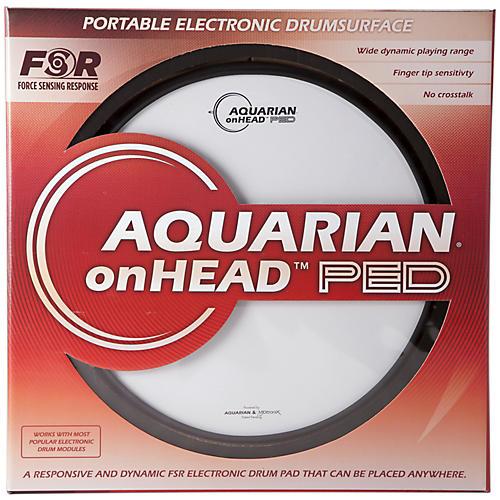 Aquarian onHEAD Portable Electronic Drumsurface Bundle Pak-thumbnail