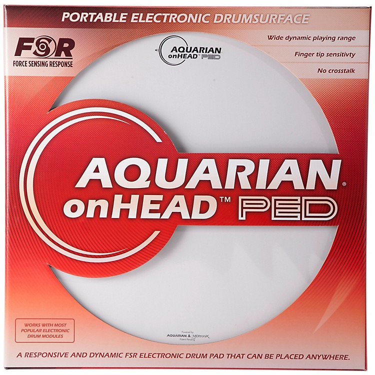 AquarianonHEAD Portable Electronic Drumsurface Bundle Pak16 Inch