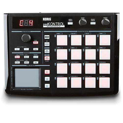 Korg padKONTROL - MIDI Studio Controller-thumbnail